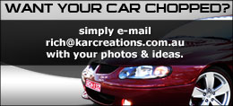 Want your car chopped?