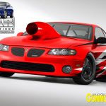 Hewitt Racing Monaro Renderings