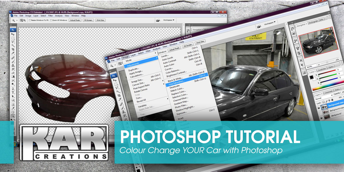 Colour Change Your Car: A Photoshop Tutorial