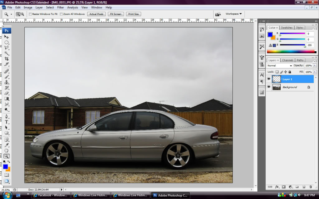 Whitewalls Photoshop - Step 4