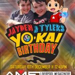 YO-KAI Birthday Invitation