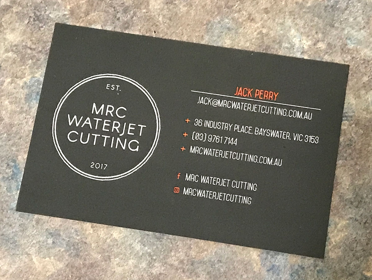 Need something waterjet cut? Simply Contact MRC Waterjet Cutting
