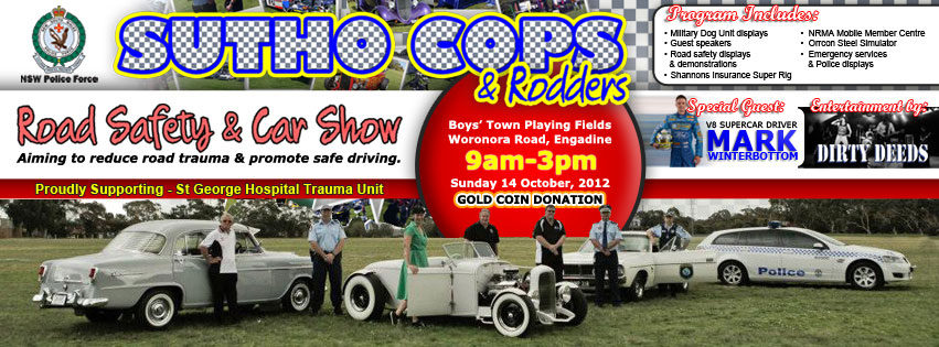 Facebook Cover for Sutho Cops & Rodders