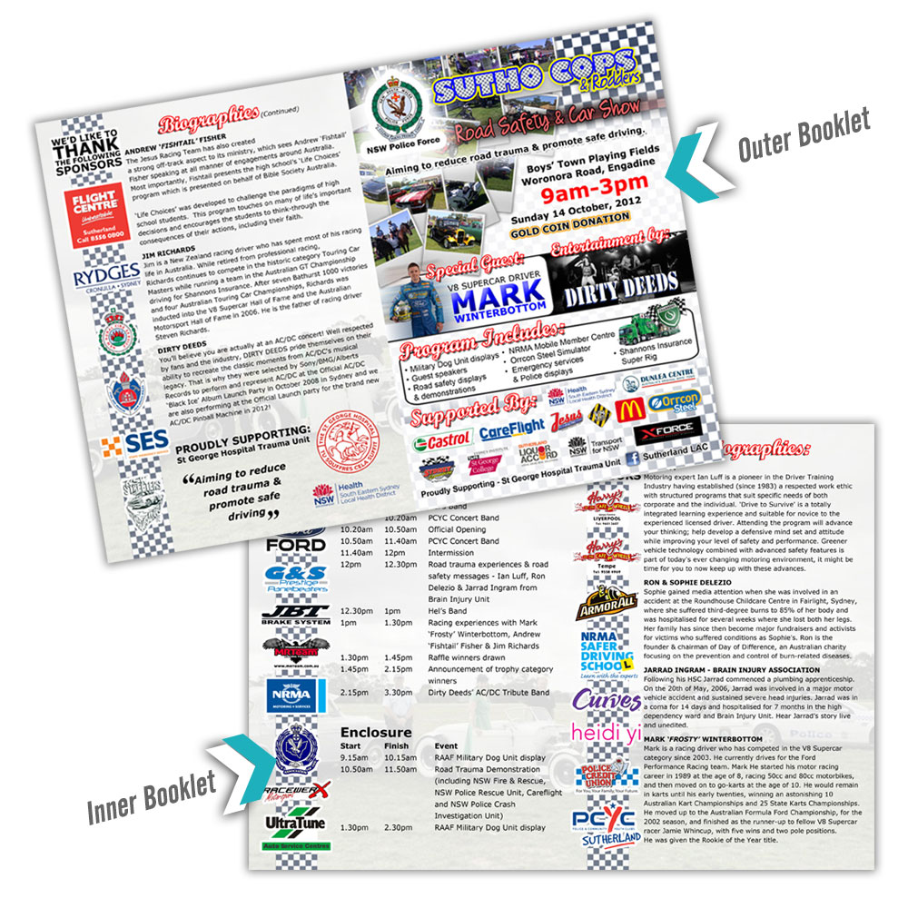 Event Booklet for Sutho Cops & Rodders