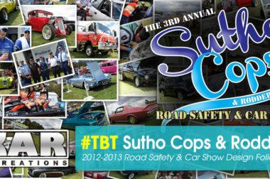 Sutho Cops & Rodders design folio